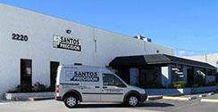 Santos Precision Inc Logo